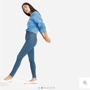 Everlane Authentic Stretch High-Rise Skinnies